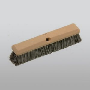 "14"" Salt and Pepper Soft Flagged Wash Brush"
