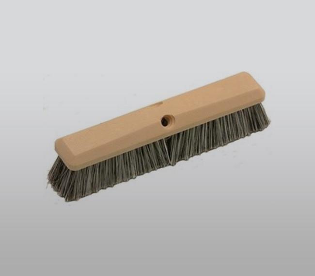 "14"" Salt and Pepper Soft Flagged Wash Brush"