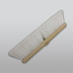 "14"" White Soft Flagged Truck Wash Brush"