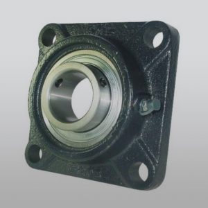 Four Bolt Flange Bearing 4 Bolt Spacing -  Cast Iron 1-1/4""